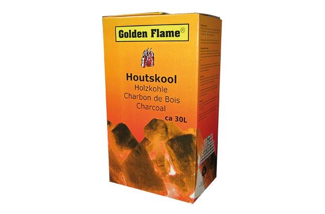 houtskool 30 liter in doos