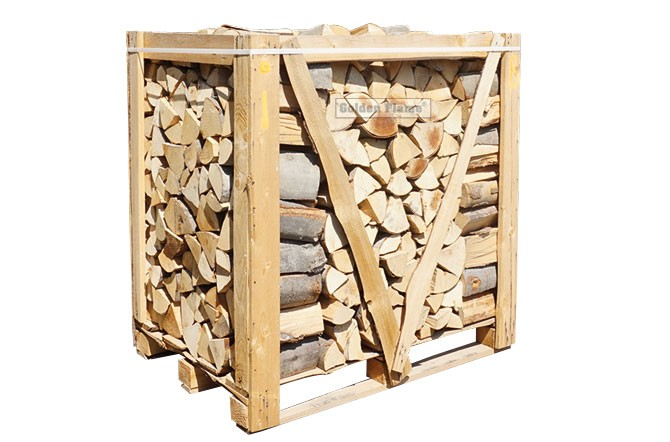 kist ovengedroogd openhaardhout 1m3